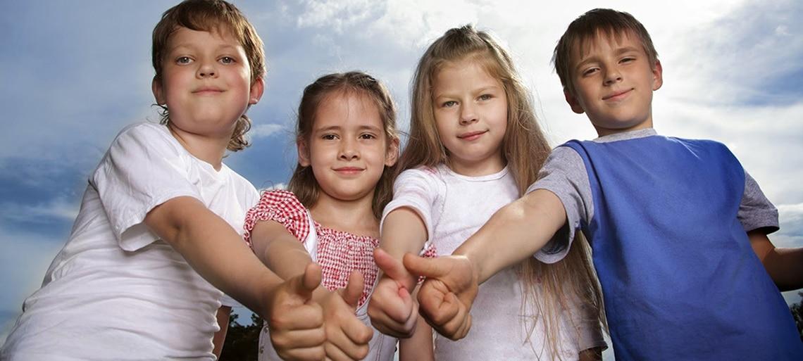 дружные дети
