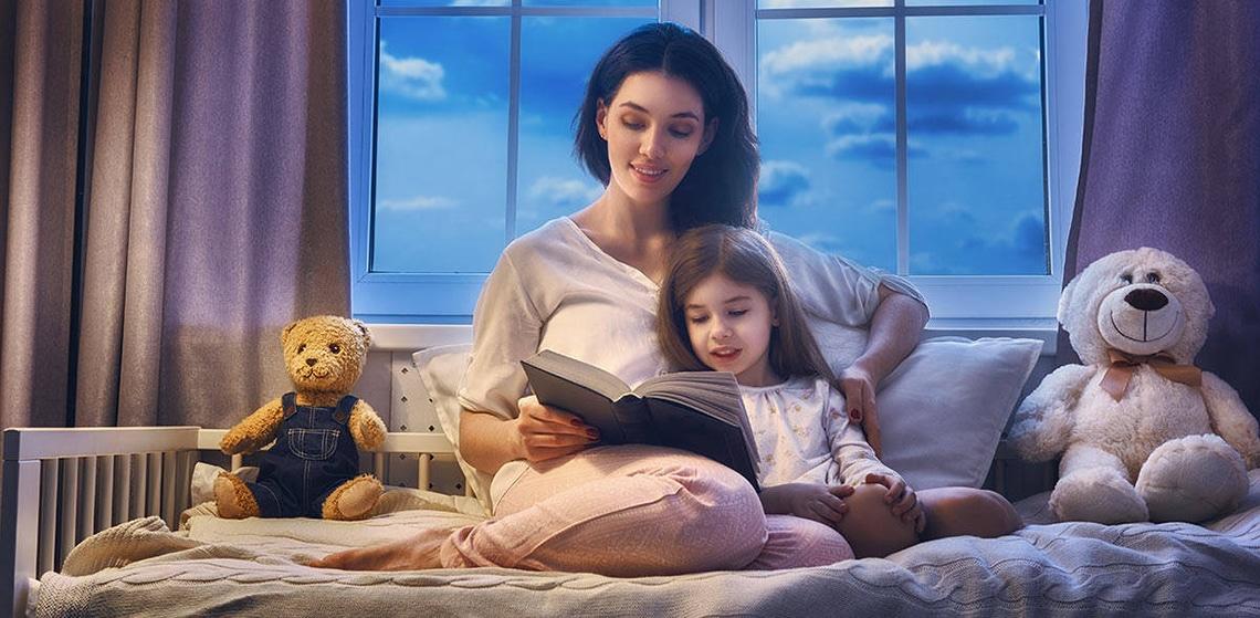 почитать сказку ребенку